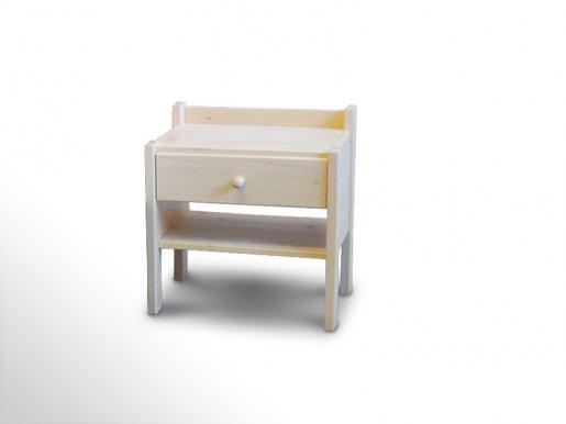 více informací o Nočn stolek L1 smrk bělený